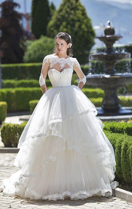 Abito da sposa modello Belle, collezione Romantica