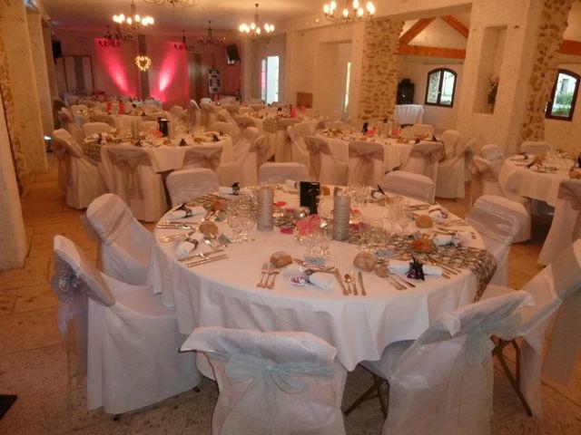 Salle La Bergerie Surface : 180 m2 Rez-de-chaussée.
