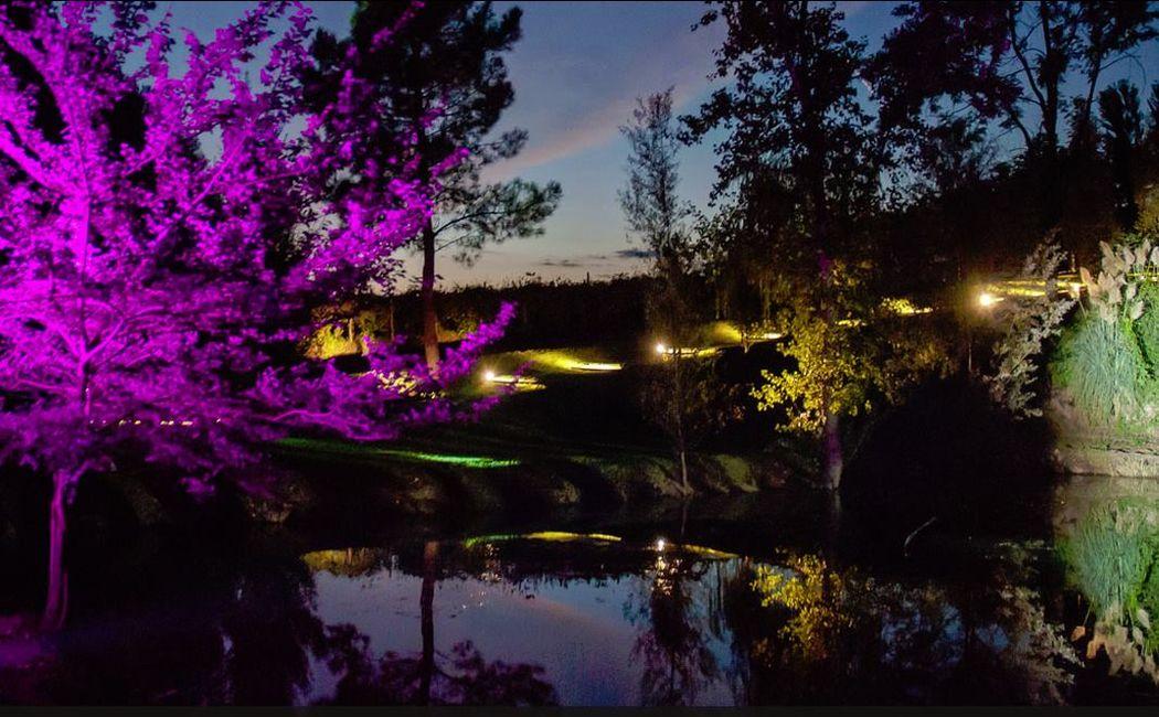 La Pampa Relais - Giochi di luce per gli eventi serali