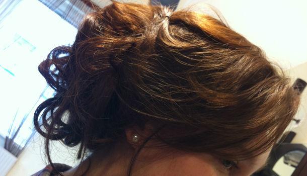 Beispiel: Die Frisur sitzt, Foto: Schnittpunkt Marion.