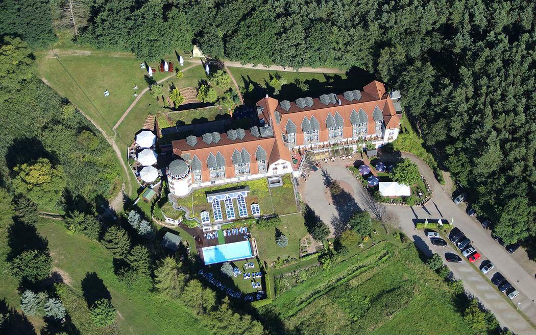 Beispiel: Außenansicht - Vogelperspektive, Foto: Hotel am See Sommerfeld.