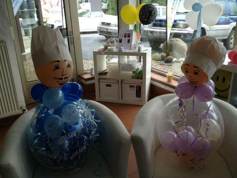Beispiel: Ballonfiguren, Foto: Airmotion - Ihr Ballonshop.