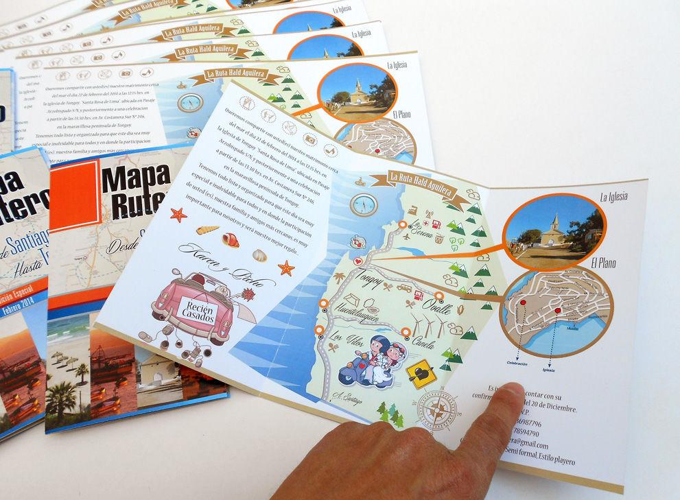 Invitaciones MapaRutero