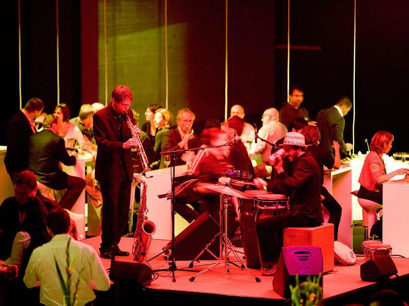 Beispiel: Der große Auftritt, Foto: Sax o'conga.