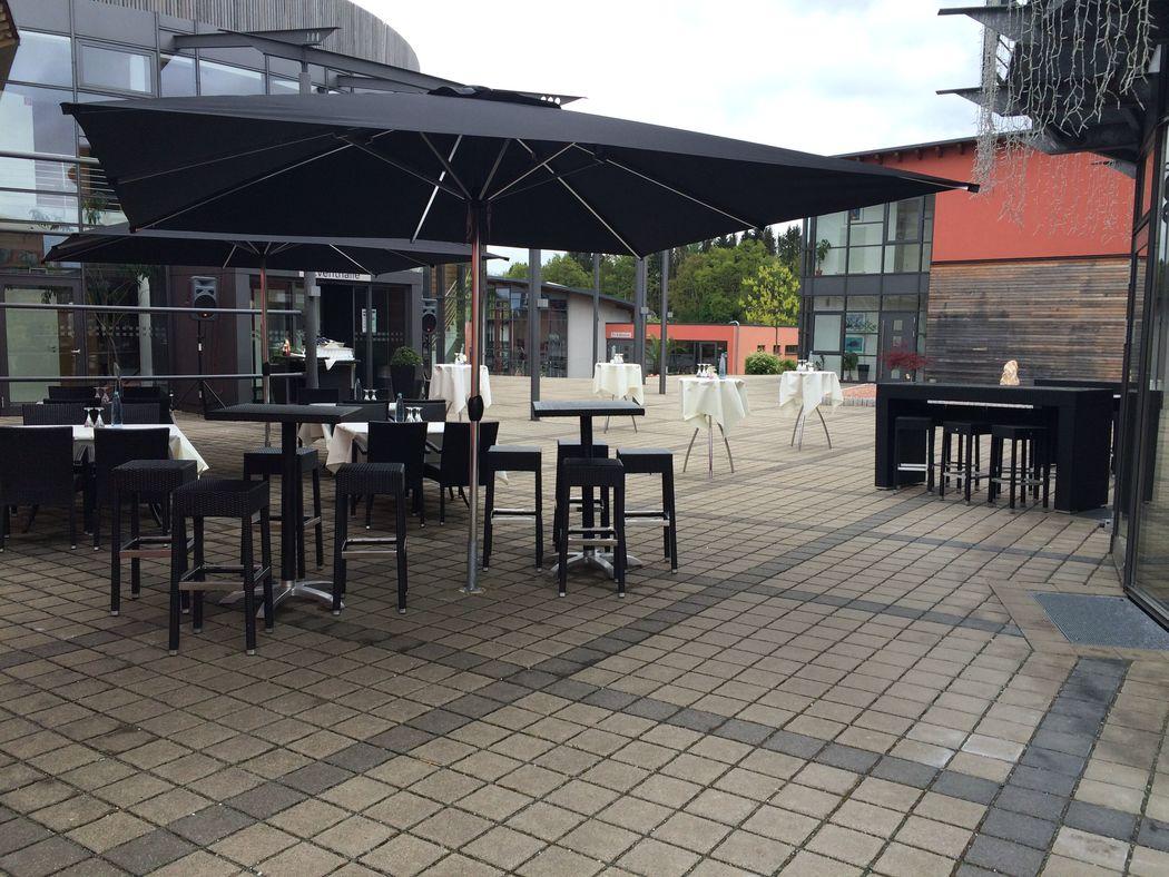 Beispiel: Terrasse;  Foto: Centrum für Freizeit und Kommunikation