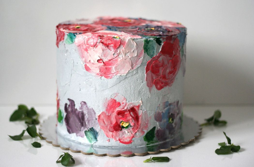 Роспись торта Катерина Илюшкина