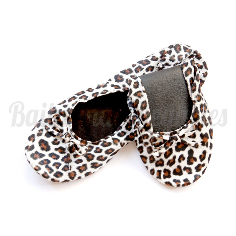 Bailarinas Plegables Animal Print