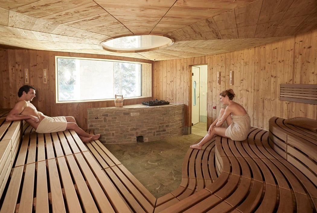 Carlton Spa, Sauna