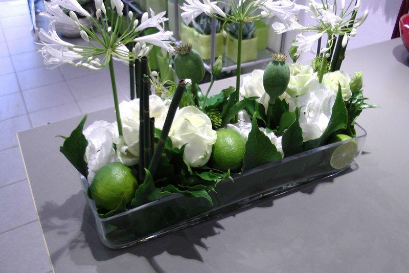 Beispiel: Tischdekoration, Foto: Blumen-Boutique-Wingen.