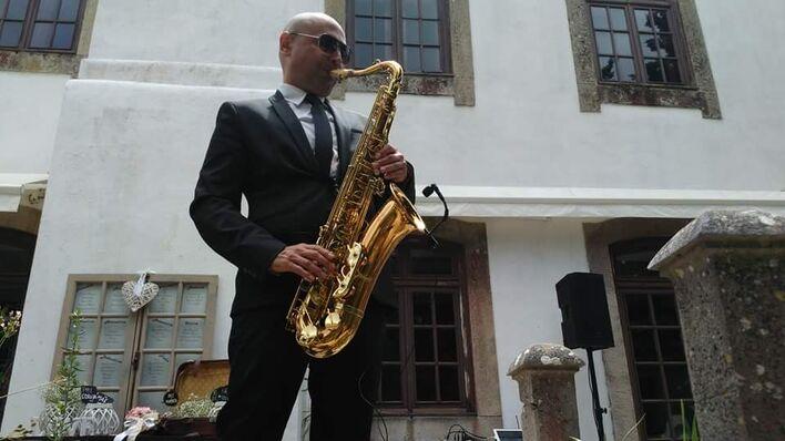 Saxofonista Nuno Rizzo