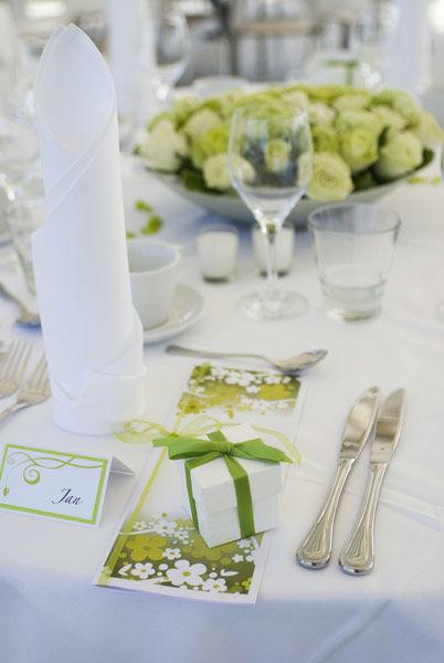 Tischdekoration, Foto: Ihre Hochzeitsplanerin