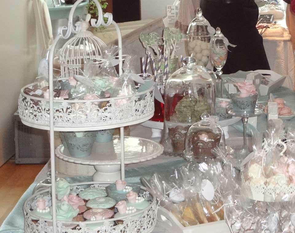 Beispiel: Ihre Candy-Bar zur Hochzeit, Foto: Trau Atelier.