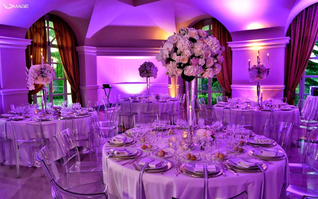 Mise en Place matrimonio a Villa Miani. Roberta Torresan Wedding Planner & Designer, Roma