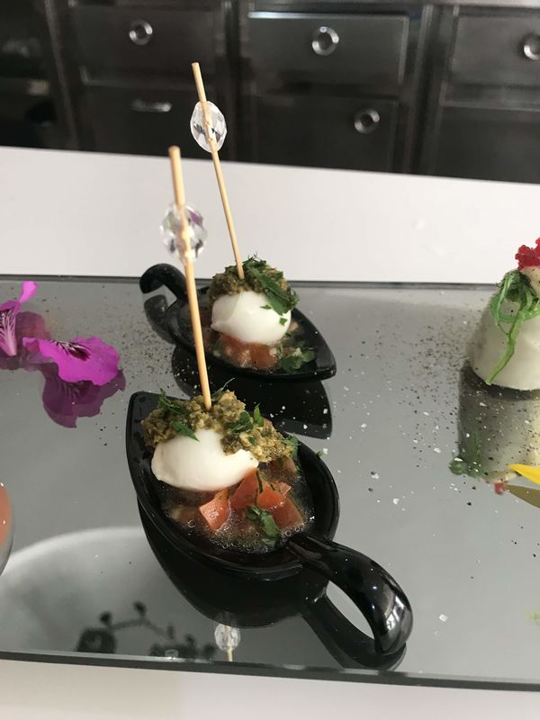 El catering de Charles