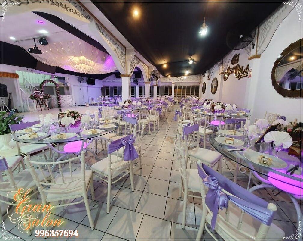 El Gran Salón By Luz Jerí