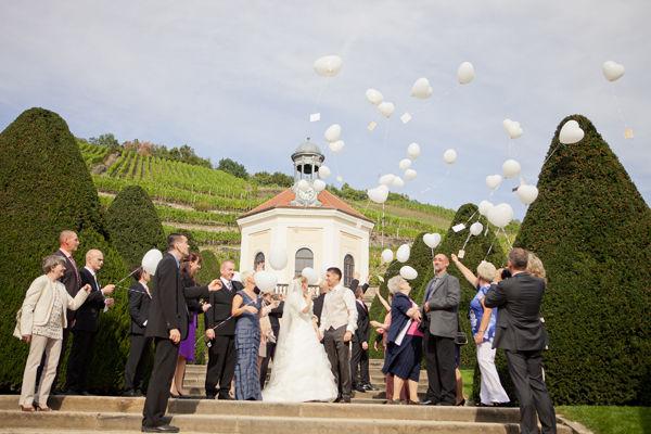 Beispiel: Fotos von der Hochzeitsgesellschaft, Foto: Romeoplusjuliet Photography.