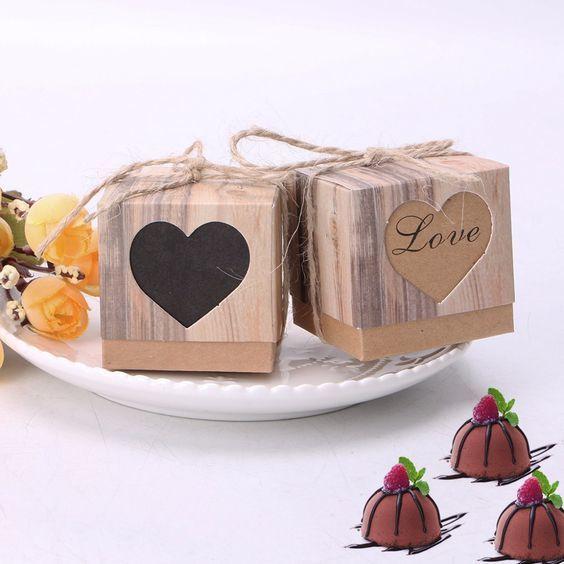 Cajita madera/regalo