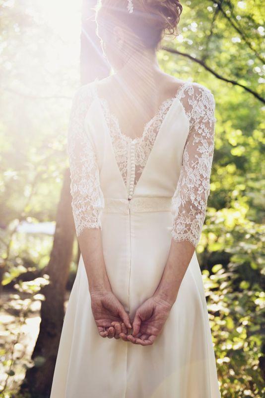 Kaa Couture modèle robe de mariée OLIVIA