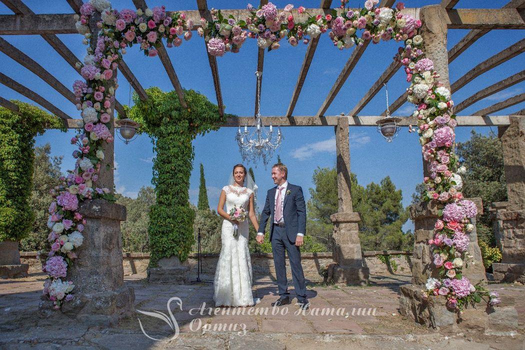 Organizadora de bodas rusas en España Wedding planner Natalia Ortiz Photo: Patricia Knabe