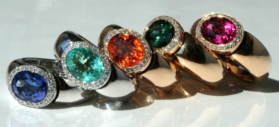 Beispiel: Individuelle Ringe, Foto: Juwelier Theobald.