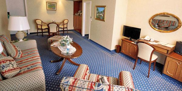 Beispiel: Suite, Foto: Hotel Landgut Horn.