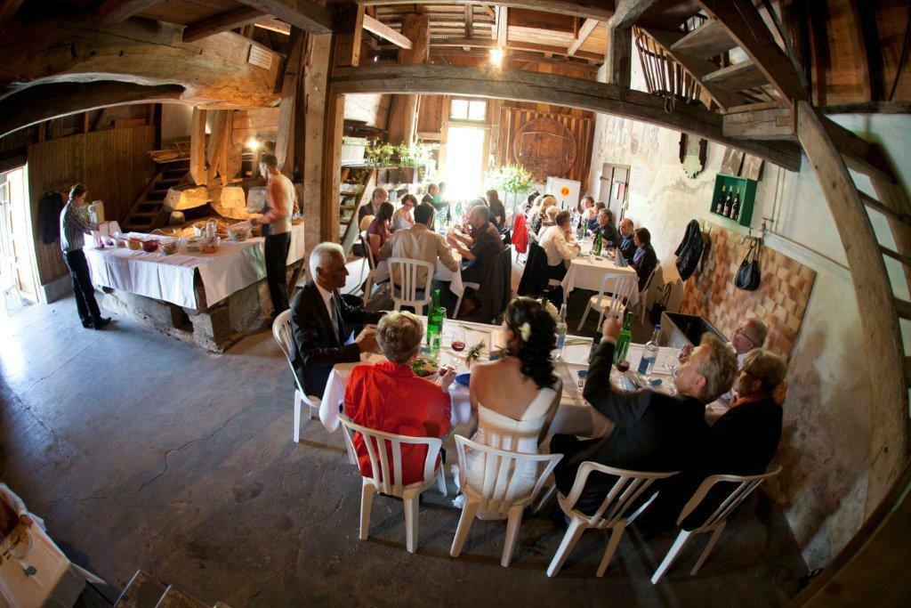 Beispiel: Gemütliche Atmosphäre, Foto: Schneider's Partyservice Bern.