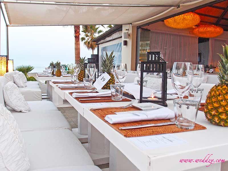Repas de mariage en Espagne