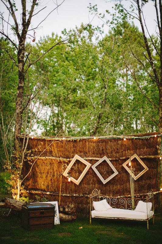 Espace Photo Booth de l'espace de réception © Claire Saucaz