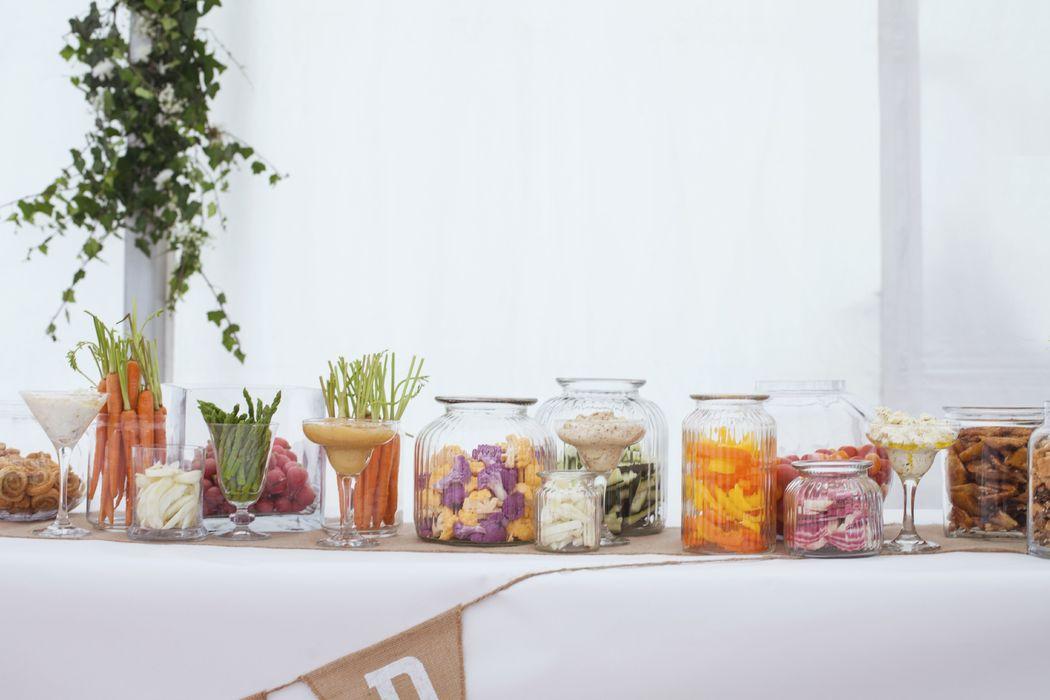 Des légumes croquants et colorés dans de jolis pots - Dans votre petite cuisine