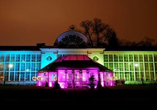 Oświetlenie architektoniczne.