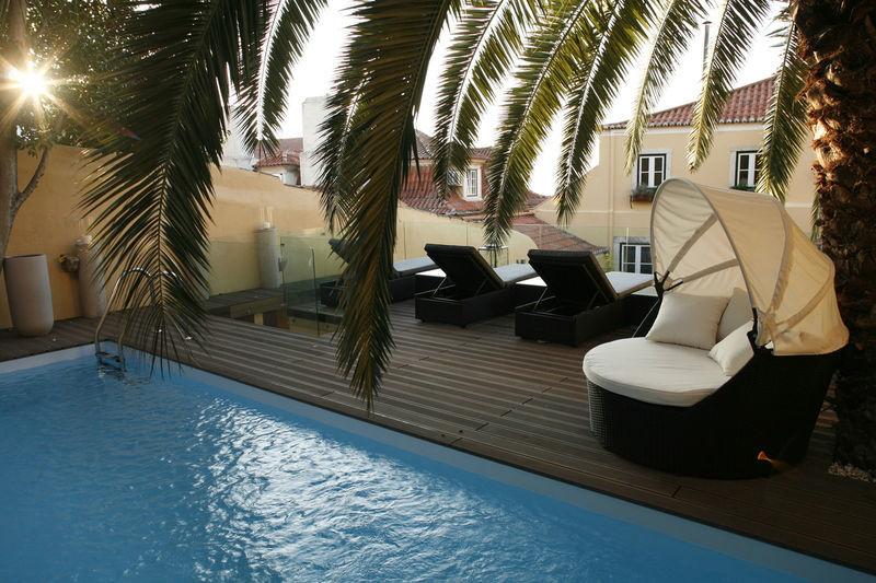 Foto: Palácio do Ramalhete vista piscina