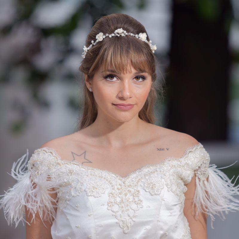 Headbands! Mais um grande lançamento da Lynx, para noivas que buscam originalidade e elegância!