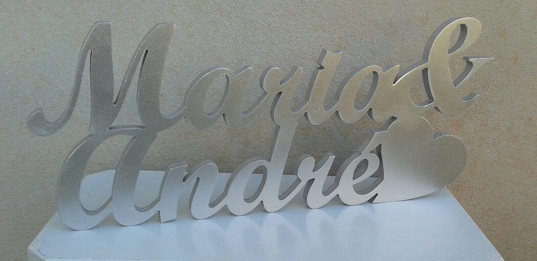 Letras com Cores