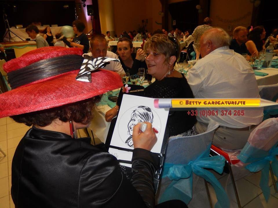 Betty Caricaturiste Mariage
