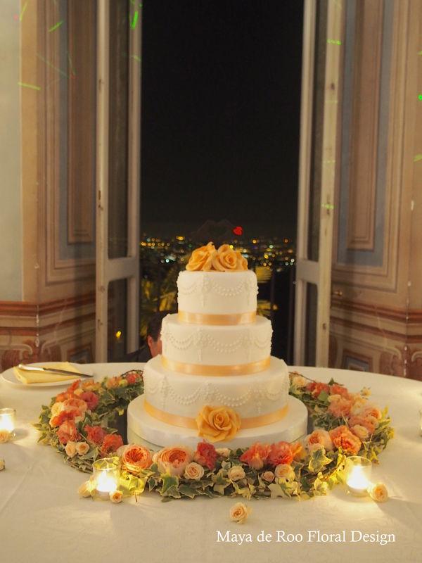 Wedding cake - Villa Grazioli - Frascati