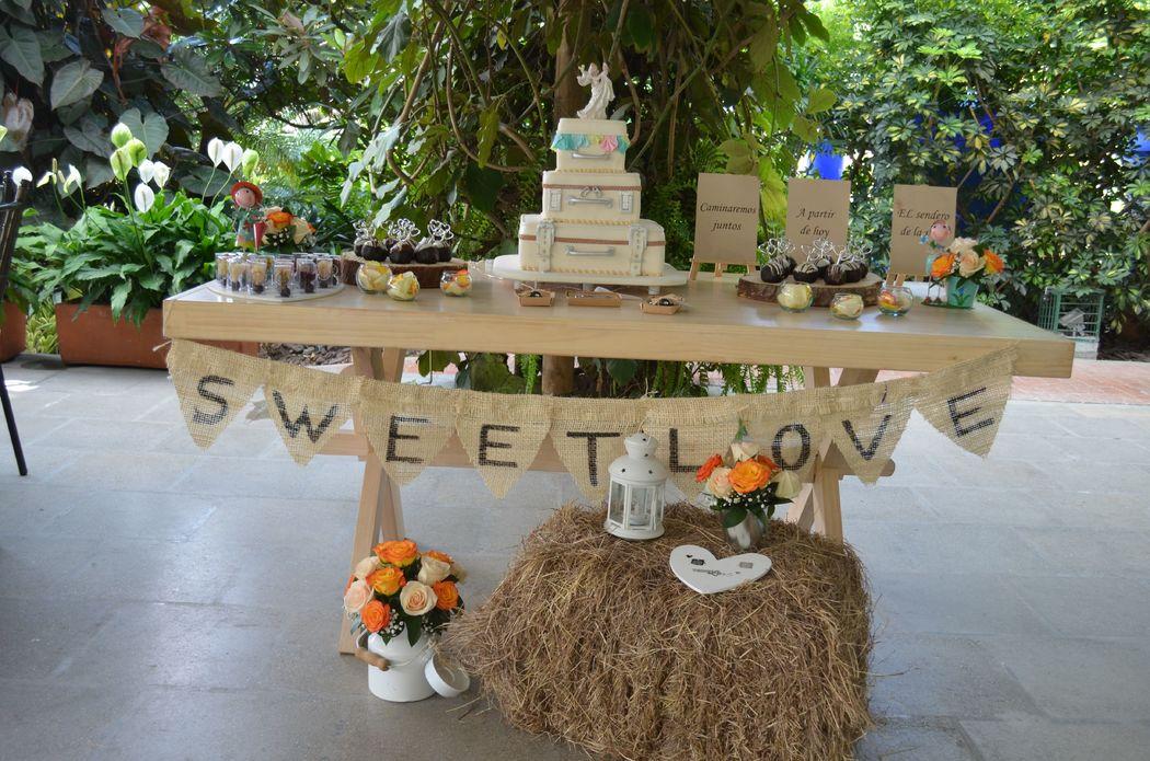 Bodas Santa Fe - Bizcocho de bodas