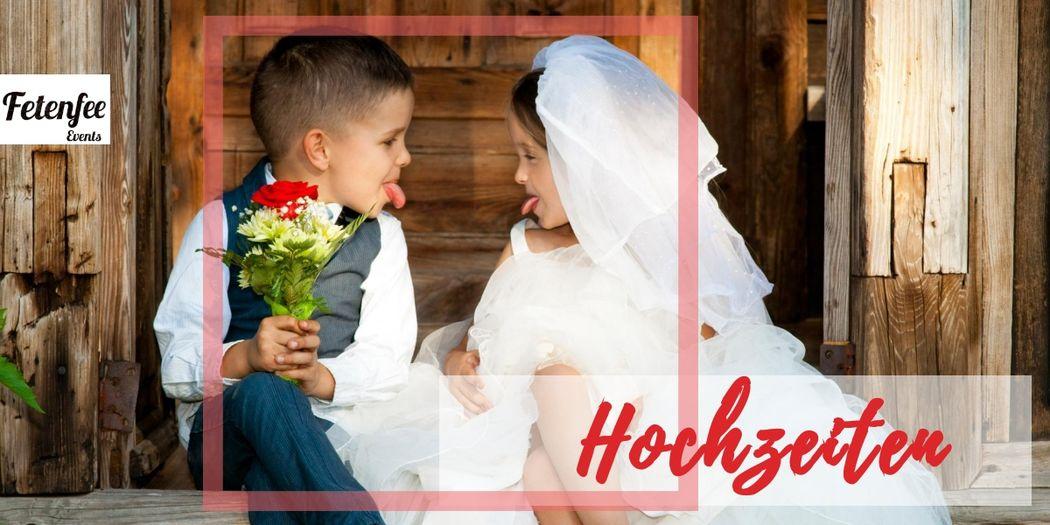 Fetenfee Events - Hochzeiten