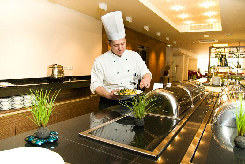 Beispiel: Buffet, Foto: Hotel Krainerhütte.
