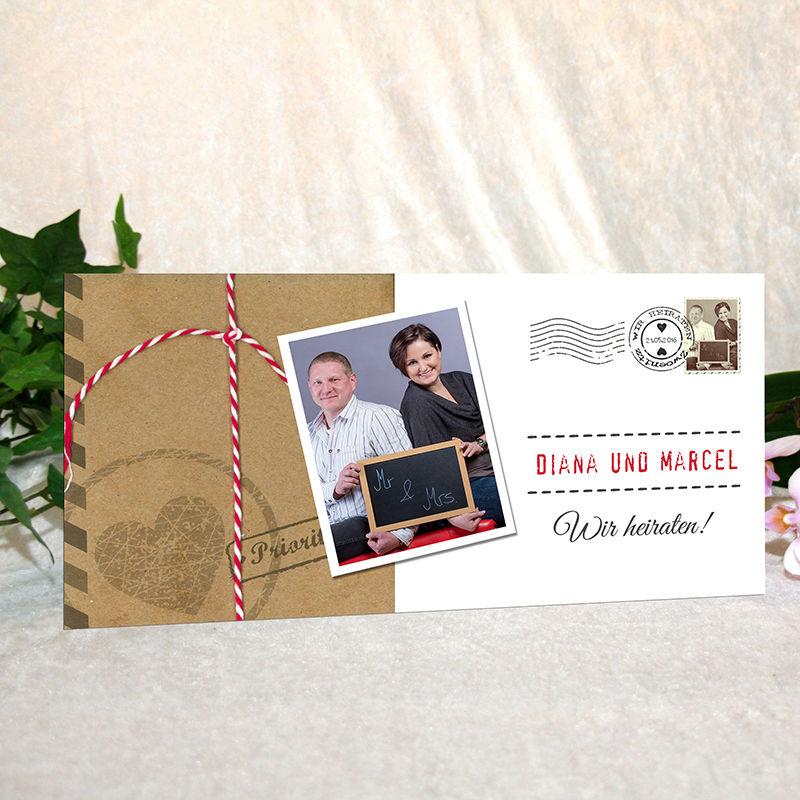 Family-Card Hochzeitseinladungskarte