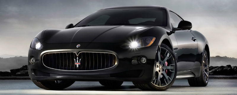 Beispiel: Hochzeitsauto Maserati, Foto: Edeltour.
