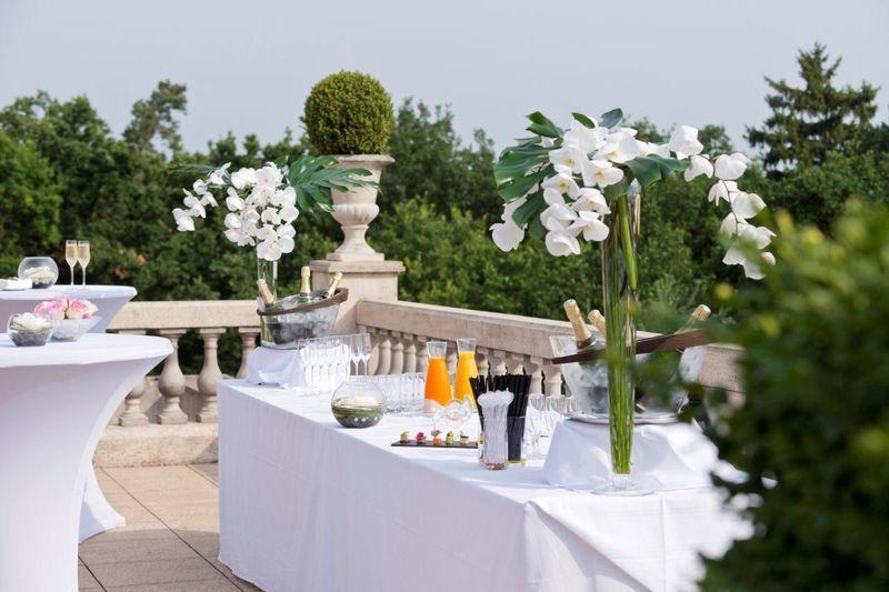 Diamonds Royal Events - Terrasse - Tiara Château Hôtel Mont Royal