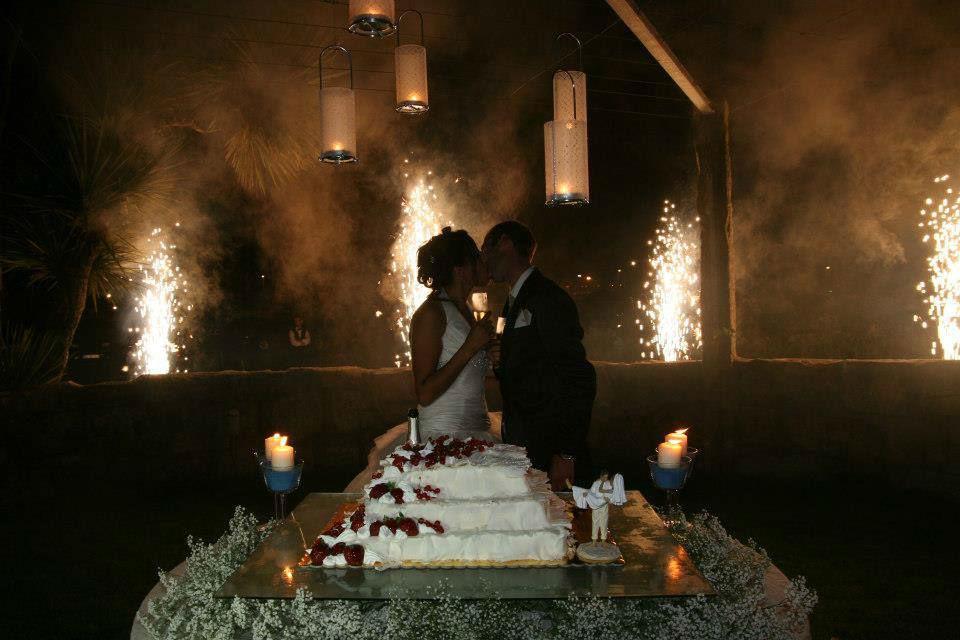 Momento corte do bolo!