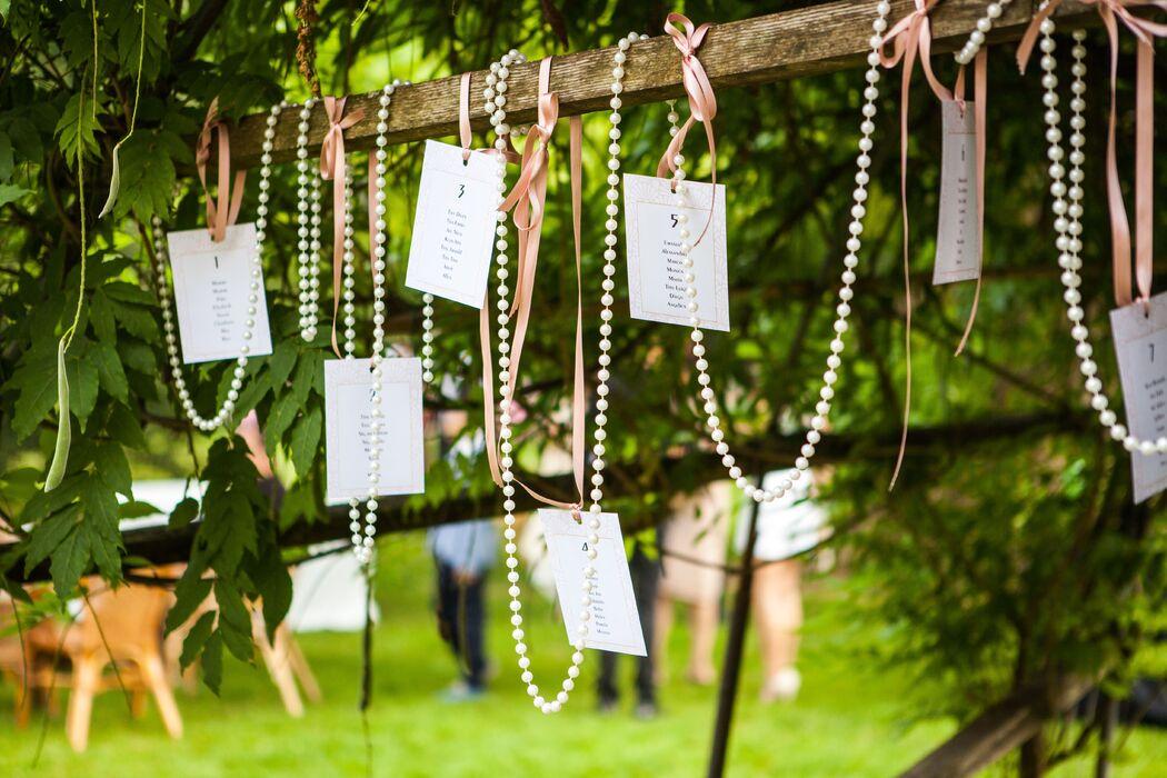 B&B Eventi Wedding - tableau de mariage