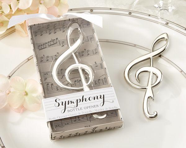 Abrebotellas con forma de nota musical