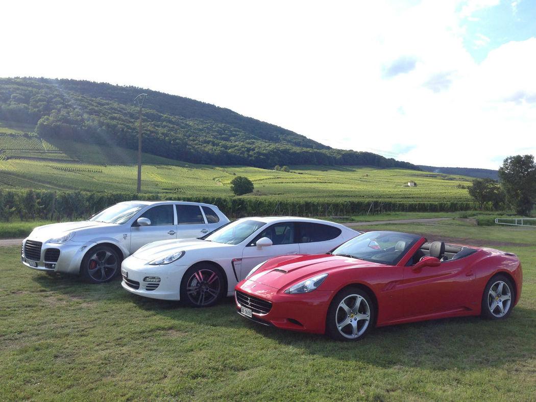Magnum Loc : Ferrari California, Porsche Panamera 4S & Porsche Cayenne Magnum Techart