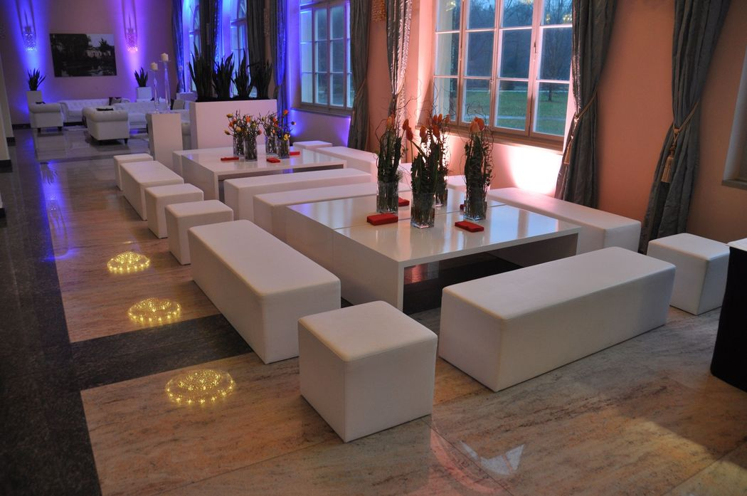 Lounge im Ballysaal