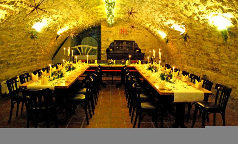 Beispiel: Gewölbekeller, Foto: Kromer´s Restaurant & Gewölbekeller.