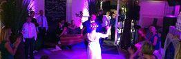Beispiel: Hochzeitspaar auf der Tanzfläche, Foto: Das Seepferdchen.