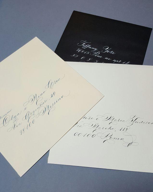 Il Calligrafo - Indirizzi su buste