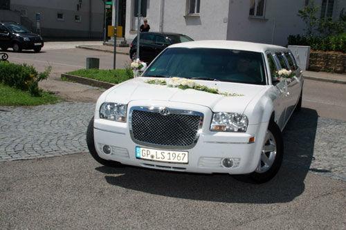 Beispiel: Das Auto für Ihren großen Tag, Foto: Limousinen Service Germany.